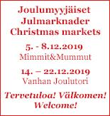 Tuomaan Markkinat / Tomasmarknaden / Christmas Market
